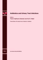 Special issue Antibiotics and Urinary Tract Infections book cover image