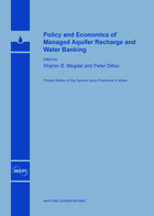 Special issue Policy and Economics of Managed Aquifer Recharge and Water Banking book cover image