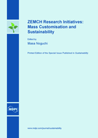 Special issue ZEMCH Research Initiatives: Mass Customisation and Sustainability book cover image