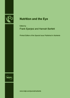 Special issue Nutrition and the Eye book cover image
