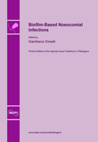 Special issue Biofilm-Based Nosocomial Infections book cover image