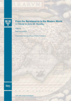Special issue From the Renaissance to the Modern World book cover image