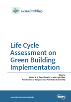 Special issue Life Cycle Assessment on Green Building Implementation book cover image