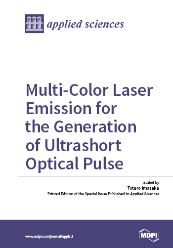 Multi-Color Laser Emission for the Generation of Ultrashort Optical Pulse