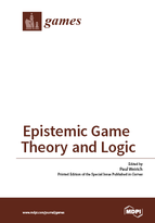 Special issue Epistemic Game Theory and Modal Logic book cover image