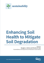 Special issue Enhancing Soil Health to Mitigate Soil Degradation book cover image