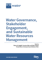 Special issue Water Governance, Stakeholder Engagement, and Sustainable Water Resources Management book cover image