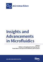 Special issue Insights and Advancements in Microfluidics book cover image