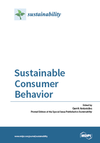 Special issue Sustainable Consumer Behavior book cover image