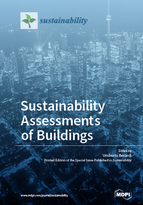 Special issue Sustainability Assessments of Buildings book cover image