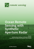 Special issue Ocean Remote Sensing with Synthetic Aperture Radar book cover image