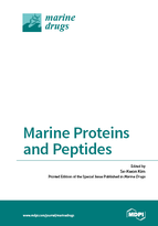 Special issue Marine Proteins and Peptides book cover image