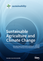 Special issue Sustainable Agriculture and Climate Change book cover image