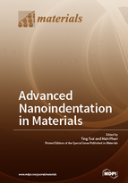 Special issue Advanced Nanoindentation in Materials book cover image