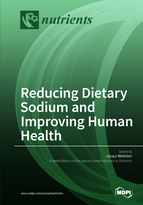 Special issue Reducing Dietary Sodium and Improving Human Health book cover image