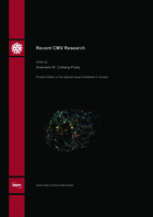 Special issue Recent CMV Research book cover image