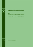 Special issue Vitamin C and Human Health book cover image