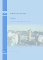 Special issue Environmental Tracers book cover image