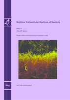Special issue Biofilms: Extracellular Bastions of Bacteria book cover image
