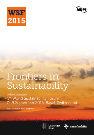 Frontiers in Sustainability 2015
